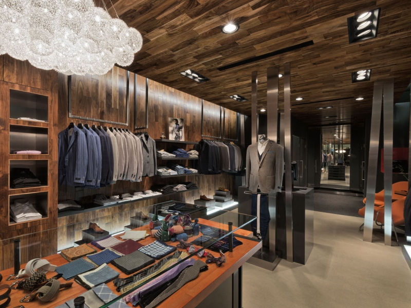 There is no cash counter in the store as the bespoke tradition holds that transactions are discreet and handled in low-key personal manner.