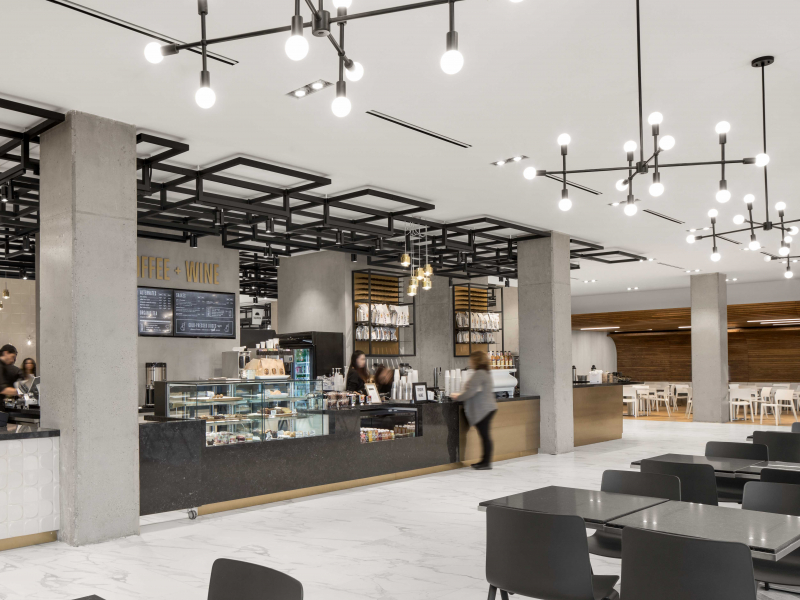 Recently opened Harbour Eats by Mercatino featured in Retail Insider